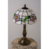Table Lamp Antique Brass Bouquet Style 18.75 Inch Height | Renovator's Supply
