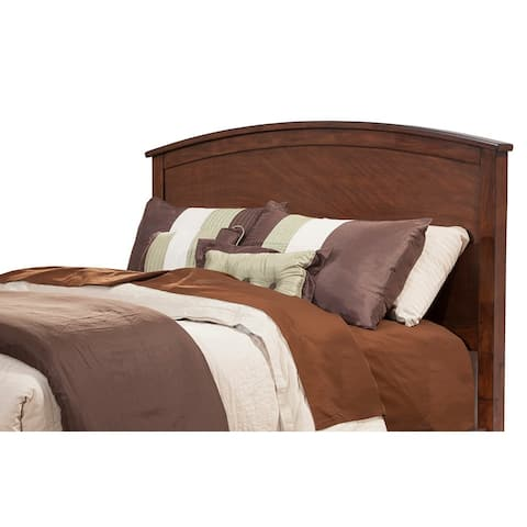 Alpine Furniture Baker Mahogany Finish Wood Headboard (Headboard Only)