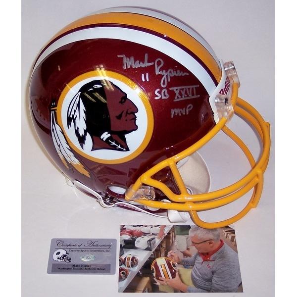 brand new 00b6f df8f0 Mark Rypien Autographed Hand Signed Washington Redskins Authentic Helmet -  PSA/DNA