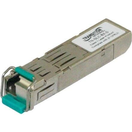 Transition Networks TN-GLC-LH-SM Transition Networks TN-GLC-LH-SM Small Form Factor Pluggable (SFP) Tranceiver Module - 1 x