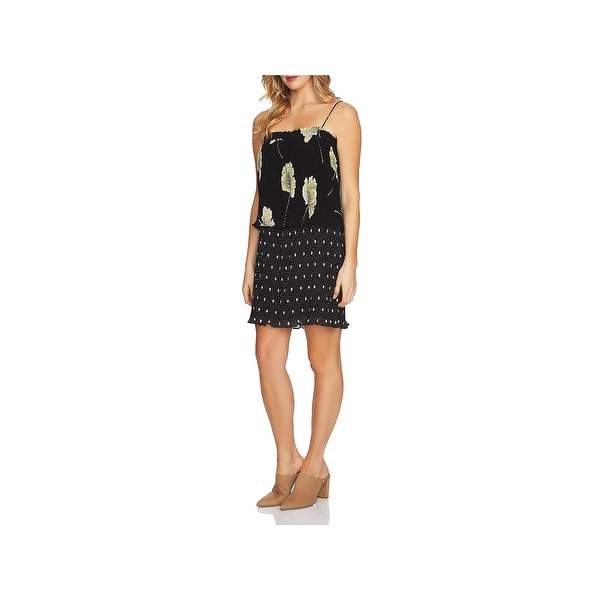9c898d8ada Shop 1.State Womens Party Dress Floral Print Mini - Free Shipping On ...