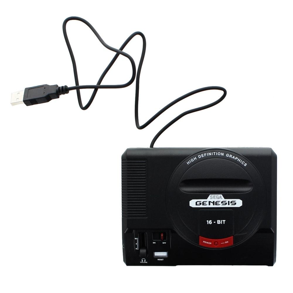 Sega Genesis 16-Bit Mini Classic Game Console USB Hub - Multi (Multi) -  Overstock