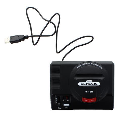 Sega Genesis 16-Bit Mini Classic Game Console USB Hub - Multi