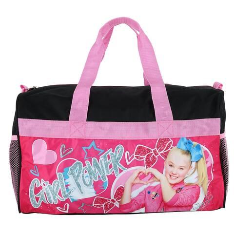 Nickelodeon Girl's JoJo Siwa Girl Power Duffle Bag - one size