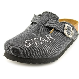 Rock Star Baby Boston RSB N Round Toe Canvas Mules