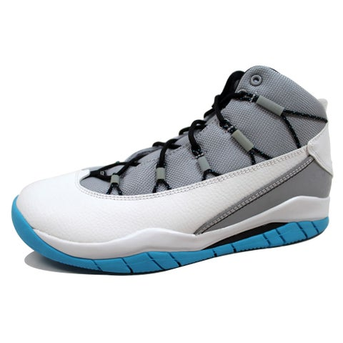 Nike Grade-School Air Jordan Prime Flight Wolf Grey/Black-White-Dark Powder Blue 616861-006 Size 6Y