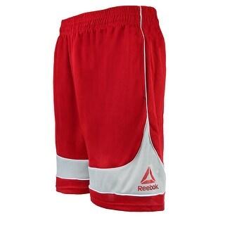 Reebok Men's Mesh Banded Shorts - Black - 2XL