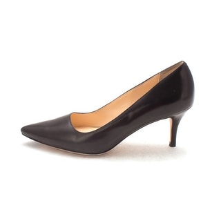 Cole Haan Womens Montainesam Closed Toe Classic Pumps Black/White Size 6.0