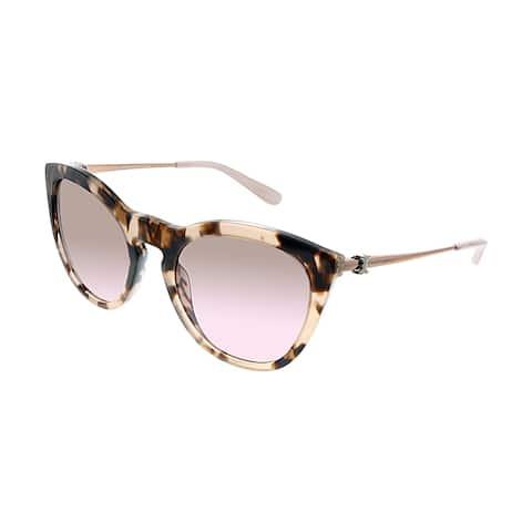 Tory Burch TY 7137 172614 54mm Womens Pink Havana Frame Brown Gradient Lens Sunglasses