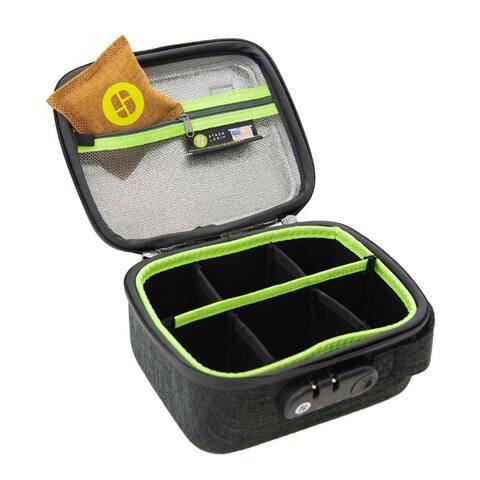 StashLogix Silverton Odorproof Locking Stash Bag (Medium, Black) - Medium