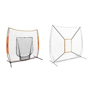 Bownet Baseball/Softball Big Mouth Portable Net w/ Strike Zone Accessory