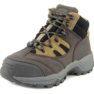 Wolverine Kingmont Youth EW Round Toe Leather Brown Hiking Boot
