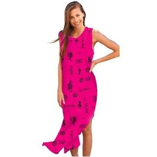 Ingear Womens Long Cotton Tank Dress Cover Up
