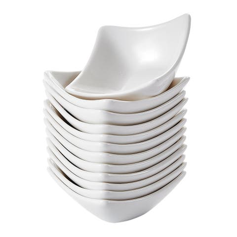 3'' White Porcelain Ramekins Serving Bowls Set of 12