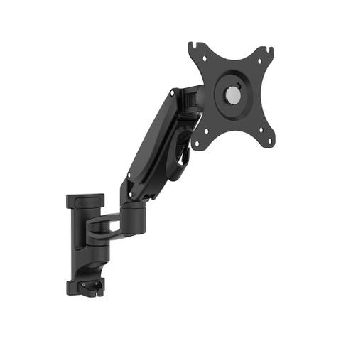 """Loctek Height Adjustable Full Motion 17""""-32"""" TV Wall Mount with Max distance 15.43"""" to wall, Weight capacity 5.51-17.6lbs"""