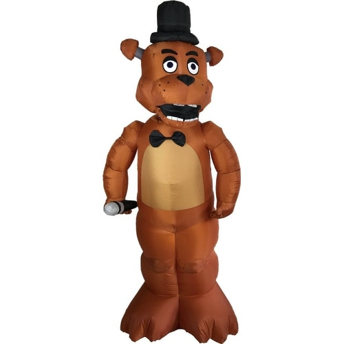 Five Nights At Freddy's Animated Freddy Inflatable Halloween Decoration