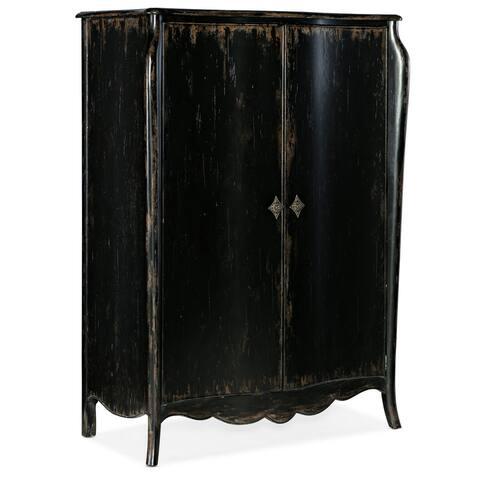 """Hooker Furniture 5845-90013-99 European Traditional 48"""" Wide Luxury - Porte Noir"""
