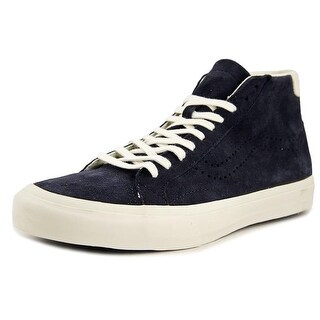 Vans Court Mid DX Round Toe Suede Sneakers