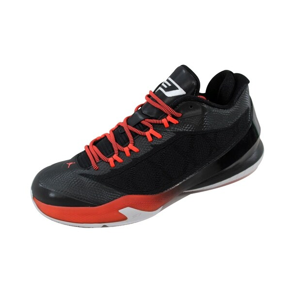 Nike Men's Air Jordan CP3 VIII 8 Black/White-Infrared