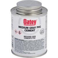 Oatey Qt Gray Pvc Cement 30886 Unit: EACH