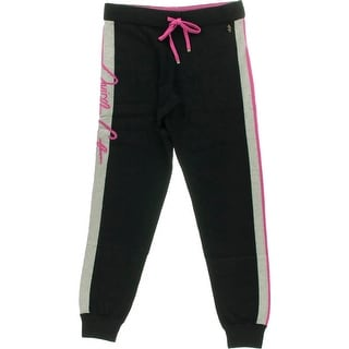 Juicy Couture Black Label Womens Cashmere Colorblock Sweat Pants - XL