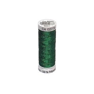 749605 8095 Gutermann Decor Metallic 200m Dark Green