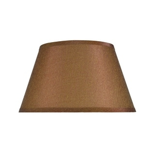 """Link to Aspen Creative Hardback Empire Shape Spider Construction Lamp Shade in Brown (8"""" x 12 1/2"""" x 7 1/2"""") Similar Items in Lamp Shades"""