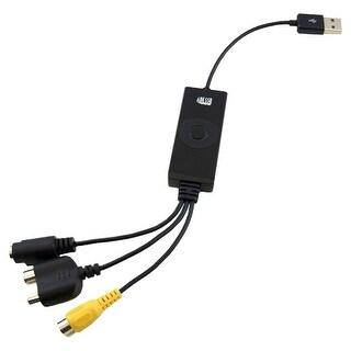 Adesso AV-200 Adesso AV-200 Video Capturing Device - Functions: Video Capturing, Video Editing, Video Recording, Audio Capturing