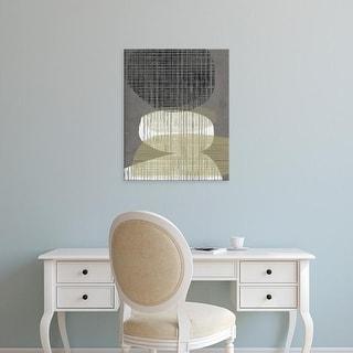 Easy Art Prints Jennifer Goldberger's 'Resting Shapes IV' Premium Canvas Art