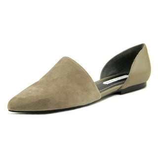 Charles David Kenny Women  Pointed Toe Suede  Flats
