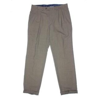 Lauren Ralph Lauren Mens Wool Houndstooth Dress Pants - 34/34