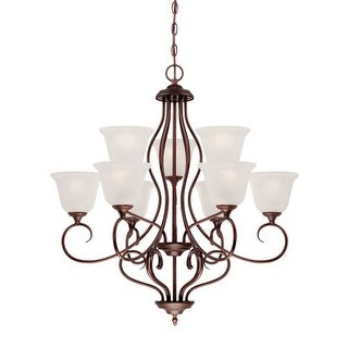 Millennium Lighting 1529 Cleveland 9 Light 2 Tier Chandelier