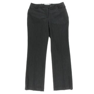 Calvin Klein Womens Petites Pants Modern Fit Heathered
