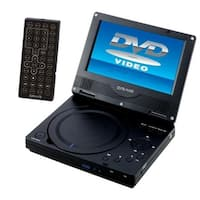 GPX PD701B 7 Portable DVD Player with Remote