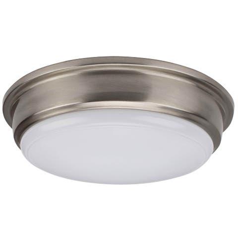 LED Flush Mount Ceiling light in Brushed Nickel