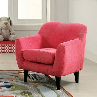 Contemporary Kids Chair, Pink