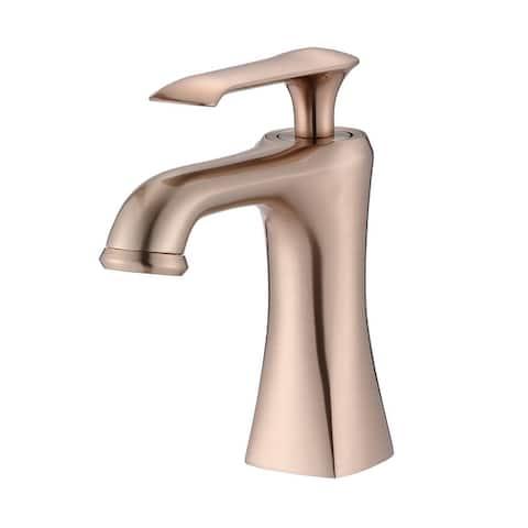 Proox Single Hole Lever Handle Bathroom Sink Faucet