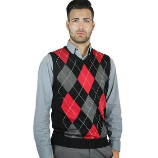 Men's Argyle Sweater Vest