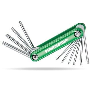 Powerbuilt® Folding Star Key Wrench Set - 940954
