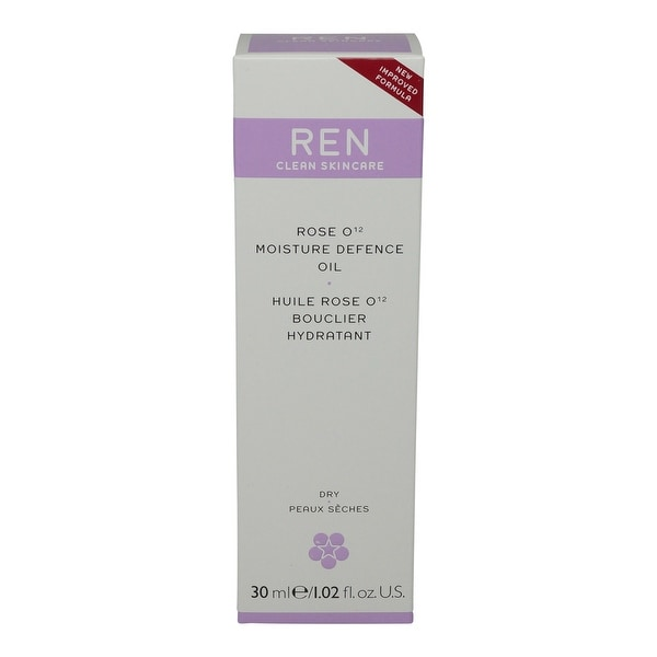 REN Skincare Rose O12 Moisture Defence Serum 1.02 Oz