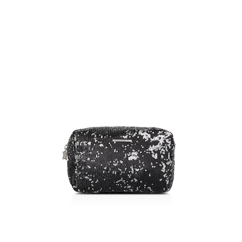 BCBGeneration Womens Cosmetic Bags Sequined Pouch - Small