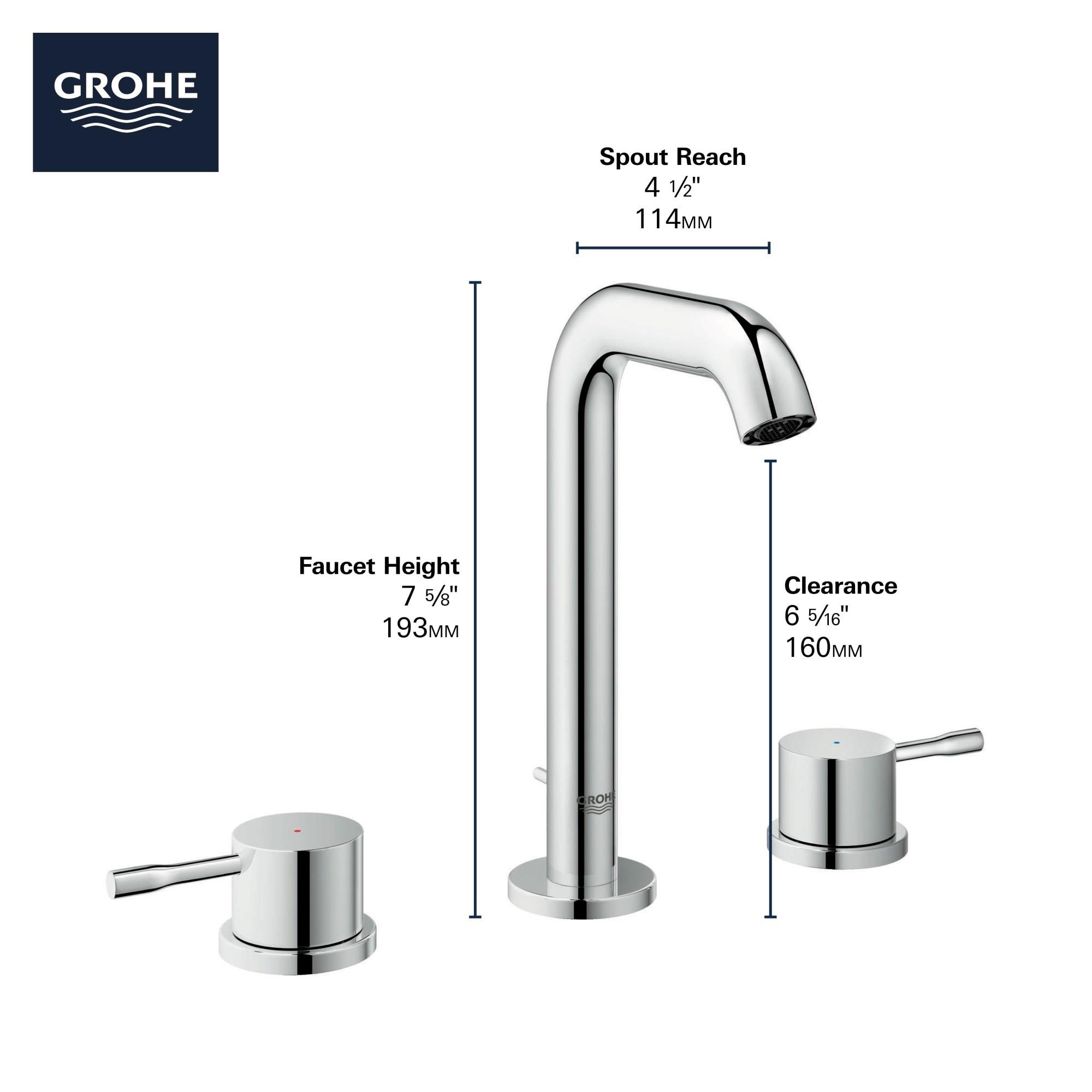 1 2 Gpm Widespread Bathroom Faucet