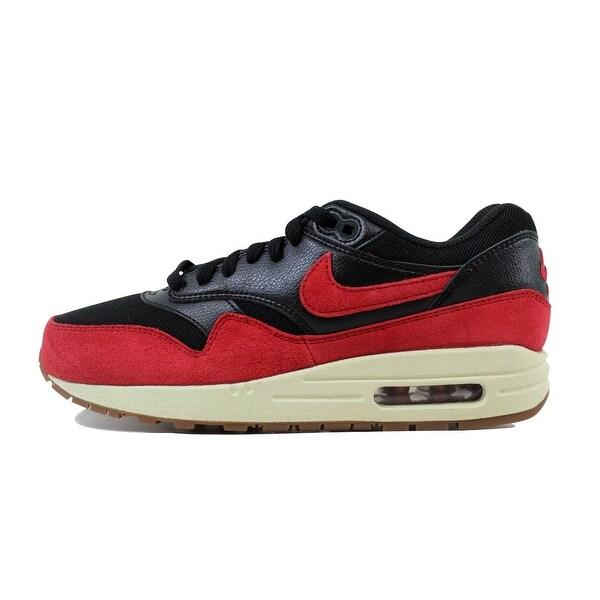 Shop Nike Women's Air Max 1 Essential BlackGym Red Sail Gum