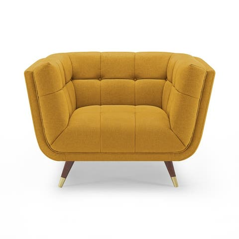 Carson Carrington Indor Soft Fabric Accent Leisure Lounge Chair