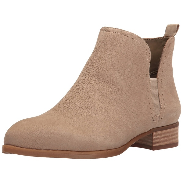 Nine West Womens Nesrin Leather Closed Toe Ankle Fashion Boots