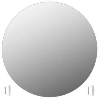 Link to vidaXL Wall Mirror Round Glass Similar Items in Mirrors