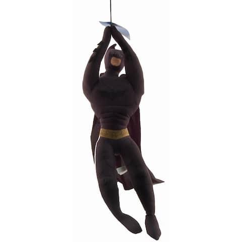 "Batman Dark Knight Rises Zipline Version 19"" Plush - multi"