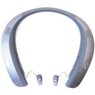LG TONE Studio Wearable Personal Speaker - Stereo - Titan Gray - (Refurbished)