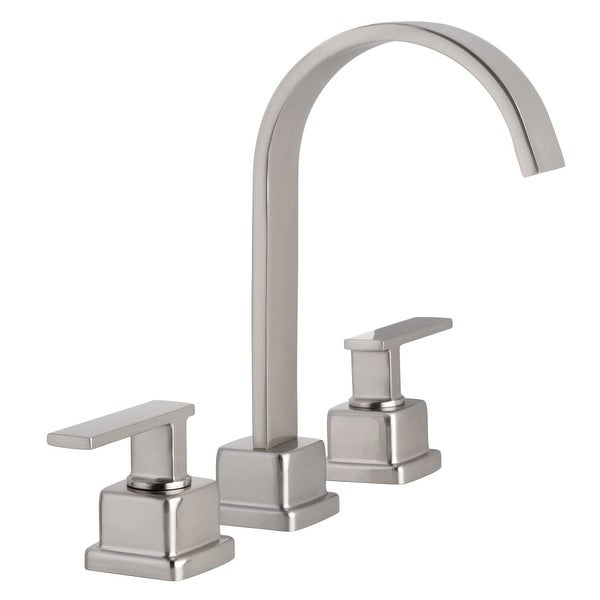 Miseno ML441 Elysa-R Widespread Bathroom Faucet with Solid Brass Push-Pop Drain Assembly - n/a