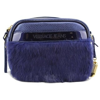 Versace Jeans Couture E1VMBBF3 Women   Leather  Messenger - Blue